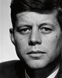 john f. kennedy (as a representative in congress by philippe halsman