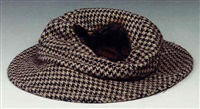 hat burnt by a meteorite, 2000 by cornelia parker