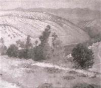 paisaje by felipe abarzuza y rodriguez de arias