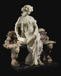 seated beauty by ildebrando bastiani