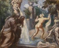 suzanne et les vieillards by émile bernard