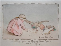 happy new year by rose maynard barton