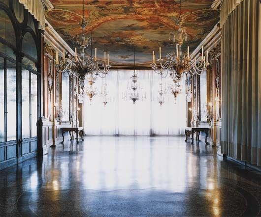 palazzo pisani moretta, venezia i by candida höfer