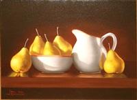 sunlit pears by paul kavanagh