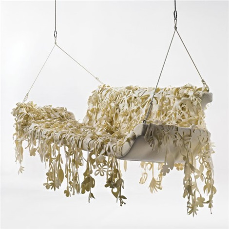dondola hanging bench by tord boontje