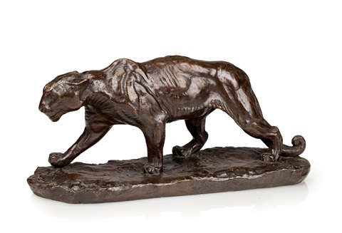 walking puma by charles cary rumsey