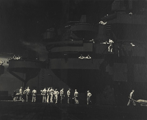 the lexington aircraft carrier by edward steichen