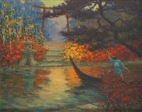 jardin japonais by georges victor laurent dantu