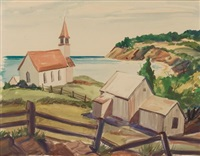coast of maine by george g. adomeit