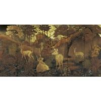 paysage (landscape) (in 6 parts) by pham hau