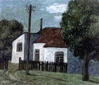 la maison de campagne sous les arbres by v. basmanov