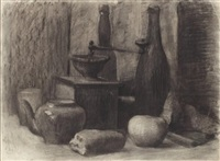 nature morte by rostislav m. dobuzhinsky