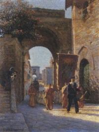 la processione by laurenzio laurenzi