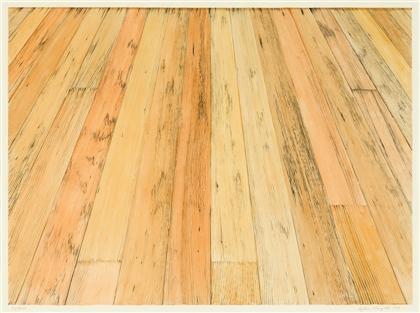 floor i by sylvia plimack mangold