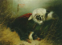 terriers ratting by edwin armfield