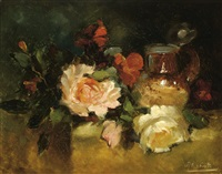 still life with roses by pieter ten cate