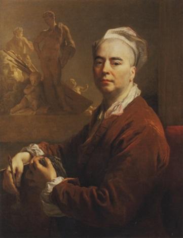 autoportrait en tenue de latelier by nicolas de largillière