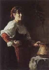 de keukenmeid by pierre (pieter) oyens