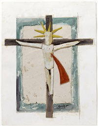 crucifix by armand avril