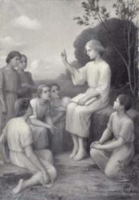 la leçon grisaille by etienne azambre