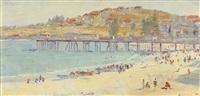 coogee beach by robert richmond campbell