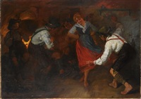 at the party by august roeseler