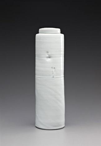 tall lidded vessel by edmund de waal