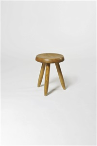 tabouret bas tripode by steph simon and charlotte perriand