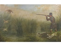 duck shooting by h. s. cottrell