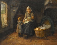 maternal cares by cornelis koppenol