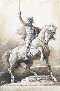 vercingetorix by françois nicolas chifflart