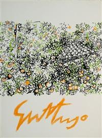 mappenwerk 7 litografie di guttuso by renato guttuso