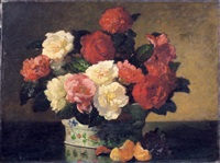 bouquet de pivoines by charles monginot
