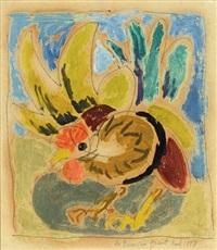 oiseau exotique by duncan grant