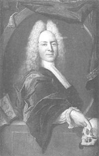 portrait von johann rodolphus zwingerus by johann rudolf huber the elder