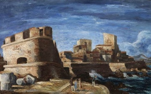 les remparts dantibes by yves alix