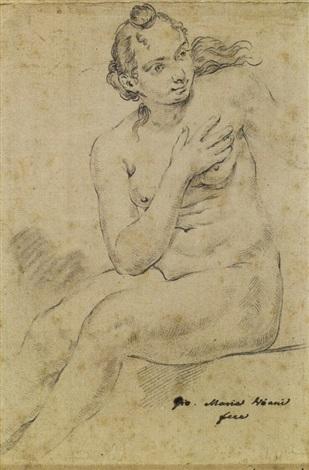donna study by giovanni maria viani