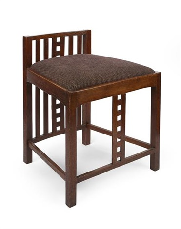 dressing table chair by charles rennie mackintosh