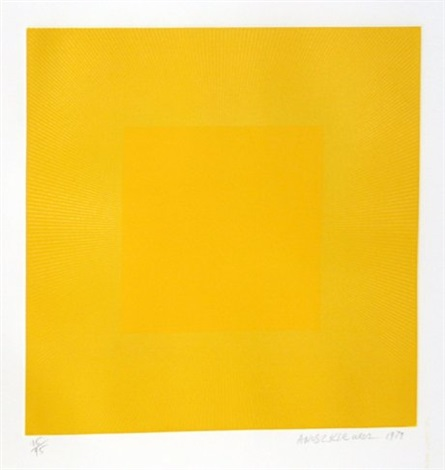 spring suite yellow with yellow by richard anuszkiewicz