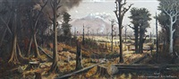 bush clearing, mt egmont by george edmund pruden