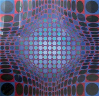 stri-ond by victor vasarely