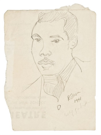 self portrait by ralph ellison
