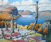 lac dechesne, st. simion by gordon edward pfeiffer
