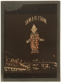 illuminations de la samaritaine. paris by léon gimpel