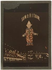 illuminations de la samaritaine. paris by léon gimpel