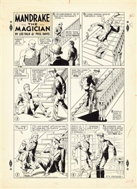 mandrake the magician by phil davis