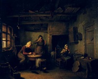 breakfast in grandparents kitchen by félix van den eycken