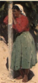 a cossack woman by vitali aleksandrovich markin