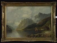 norwegischer fjord by johann jungblut