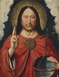 christ as salvator mundi by gerard david